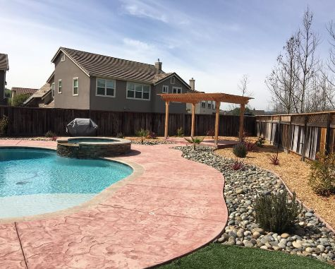 this picture shows pool deck contractor fullerton