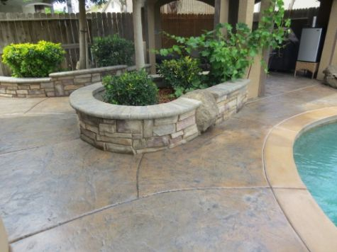 this image shows retaining wall contractor in fullerton