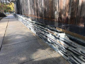 A picture of stone veneer in Fullerton.
