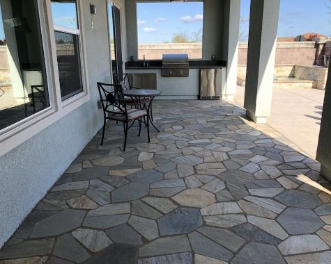 this picture shows stone patio fullerton